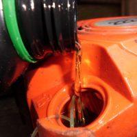 Ölverbauch Motorsäge