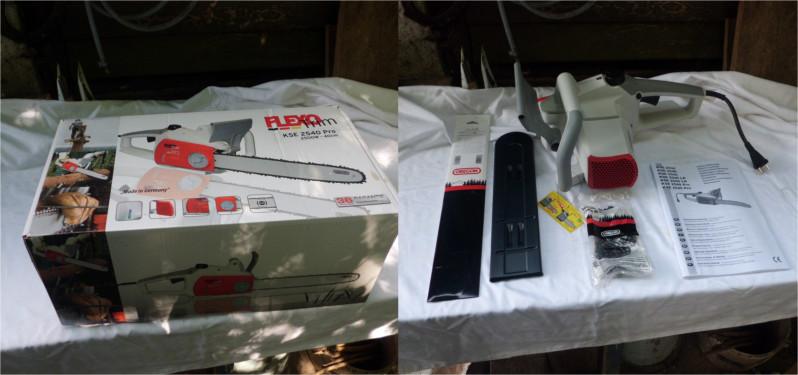 FlexoTrim KSE 2540 Pro Zusammenbau
