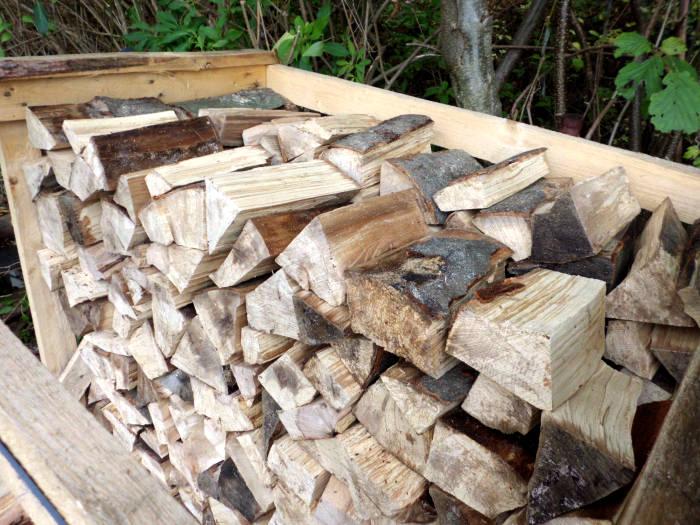 Brennholz abdecken oder nicht