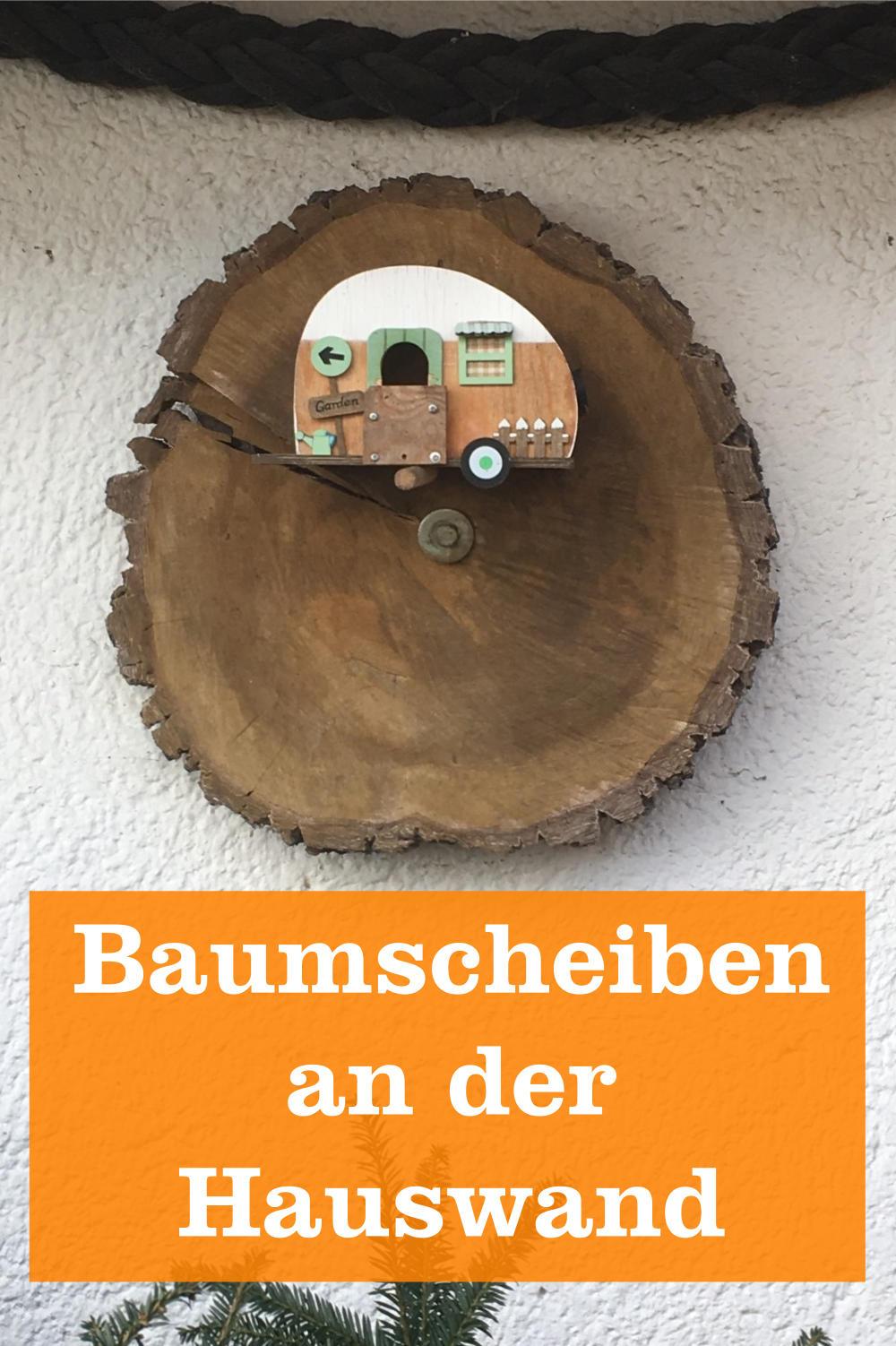 Baumscheibe Hauswand