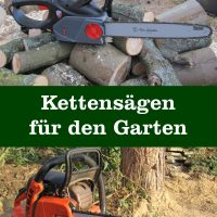 Kettensägen für Garten