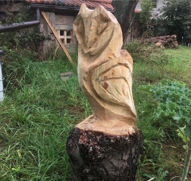 Holzfigur vor Diebstahl schützen