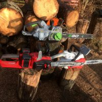Akku Kettensägen für Brennholz