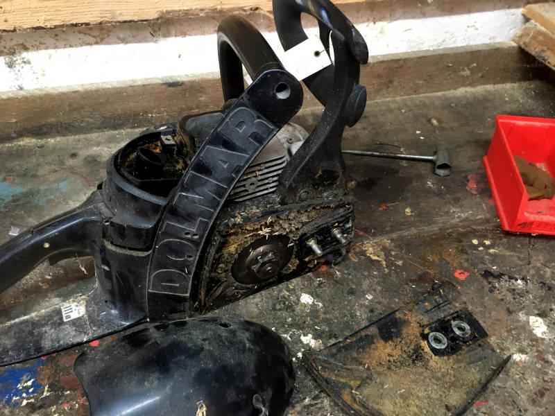 Dolmar PS 3 verschmutzt