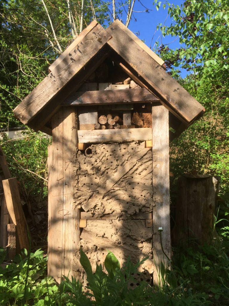 Holz für Insektenhotel